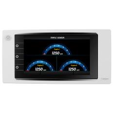 "VDO Marine 7"" AcquaLink Multifunction TFT Display - 12/24V - 800 x 480 Resolution - White"