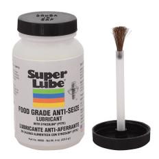 Super Lube Food Grade Anti-Seize w/Syncolon (PTFE) - 8oz Brush Bottle