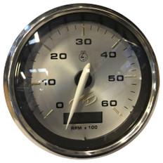 "Faria Monterey 4"" Tachometer (6000 RPM) w/Digital Hourmeter"