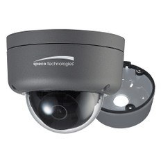 Speco 2MP Ultra Intensifier HD-TVI Dome Camera 3.6mm Lens - Dark Grey Housing w/Included Junction Box