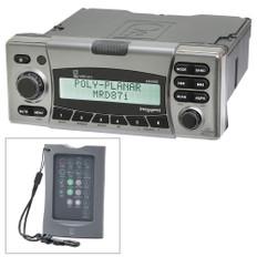 Poly-Planar MRD87i IPX6 Marine Radio AM/FM/BT/SiriusXM/MNEA 2000 w/FREE Wireless Remote