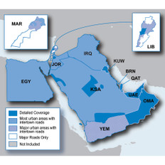 Garmin City Navigator - Middle East /SD