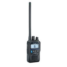 Icom M85UL Ultra Compact Intrinsically Safe Handheld VHF Marine Radio w/5W Power Output
