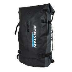 Ronstan Dry Roll Top - 55L Backpack - Black & Grey