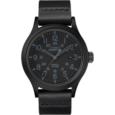 Timex Expedition Scout 40mm - Black - Fabric Strap Watch