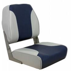 Springfield Economy Multi-Color Folding Seat - Grey/Blue