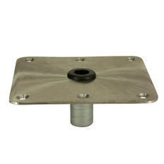 """Springfield KingPin 7"""" x 7"""" - Stainless Steel - Square Base"""