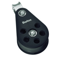 Barton Marine Series 5 Single Fixed Eye Block - 54mm