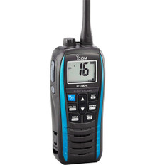 Icom M25 Floating Handheld 5W VHF - Marine Blue
