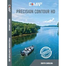 Lowrance C-MAP Precision Contour HD Chart - South Carolina