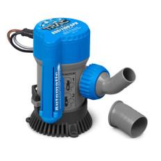 """TRAC Bilge Pump - Automatic - 800/1100GPH - 3/4"""" & 1-1/8"""" Outlets"""