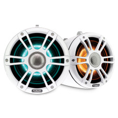 """Fusion Sg-flt772spw 7.7"""""""" Tower Speaker White With Crgbw Lighting"""