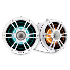 """Fusion Sg-flt652spw 6.5"""""""" Tower Speaker White With Crgbw Lighting"""