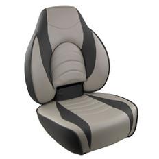 Springfield Fish Pro High Back Folding Seat - Charcoal/Grey