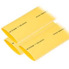 "Ancor Heat Shrink Tubing 1"" x 12"" - Yellow - 3 Pieces"
