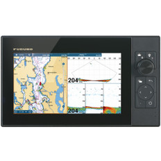 "Furuno NavNet TZtouch3 9"" Hybrid Control MFD w/Single Channel CHIRP Sonar"