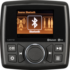 Marine Audio MA112 Stereo Head Unit - AM/FM/BT