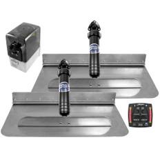 Bennett Marine 24x12 Hydraulic Trim Tab System w/One Box Indication