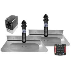 Bennett Marine 18x12 Hydraulic Trim Tab System w/One Box Indication