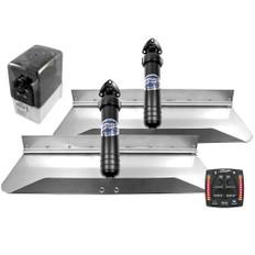 Bennett Marine 24x9 Hydraulic Trim Tab System w/One Box Indication