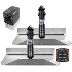 Bennett Marine 18x9 Hydraulic Trim Tab System w/One Box Indication