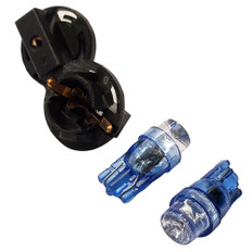 """Faria Replacement Bulb f/4"""" Gauges - Blue - 2 Pack"""