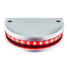 Lopolight Red 180 Navigation Light - 3nm Vertical Mount - 0.7M Cable