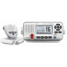 Icom M424G VHF Radio w/Built-In GPS - White
