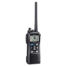 Icom M73 PLUS Handheld VHF 6W Marine Radio w/Active Noise Cancelling & Voice Recording