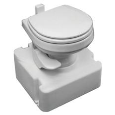 Dometic M28 - 711 Traveler Gravity Toilet w/Tank - White