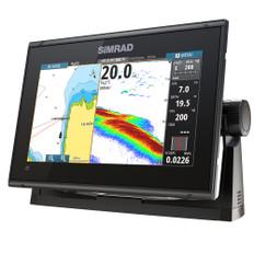 Simrad GO9 XSE Chartplotter/Fishfinder w/C-MA{ Discover Chart - No Transducer