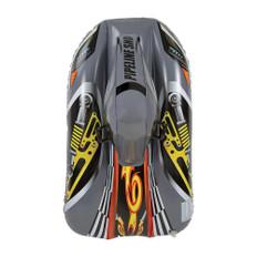 "Aqua Leisure 40"" Pipeline Sno Snowrocket Sled - Racer Grey"