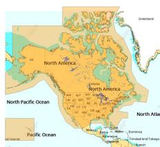 C-map Discover Microsd North America