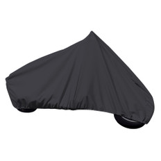 Carver Sun-Dura Full Dress Touring Motorcycle w/No/Low Windshield Cover - Black