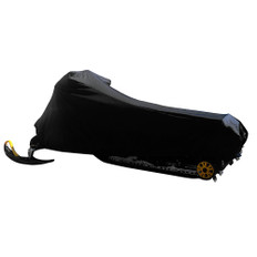Carver Sun-Dura Large Snowmobile Cover - Black