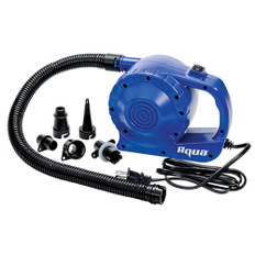 Aqua Leisure Heavy-Duty 110V Electric Air Pump w/5 Tips