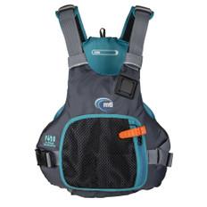 MTI Vibe Life Jacket - Black/Turquoise - Large/X-Large