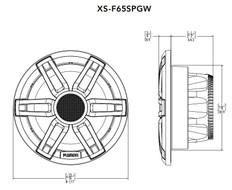 "Fusion Xs-f65spwb 6.5"""" Speaker"