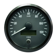 "VDO SingleViu 100mm (4"") Speedometer - 120 KM/H"