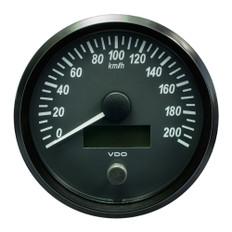 "VDO SingleViu 100mm (4"") Speedometer - 200 KM/H"