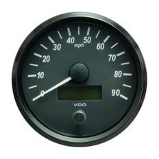 """VDO SingleViu 100mm (4"""") Speedometer - 90 MPH"""