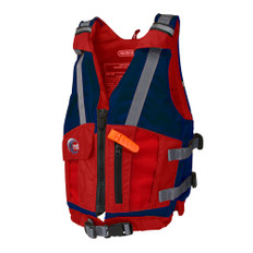 MTI Youth Reflex Life Jacket - Blue/Red - 50-90lbs
