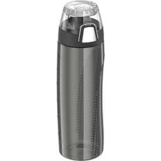 Thermos Hydration Bottle w/Rotating Intake Meter - BPA Free - 24oz - Smoke