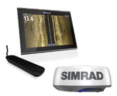 Simrad Go12 Xse Halo+ Radar Active Imaging 3in1 Transducer Bundle C-map Discover