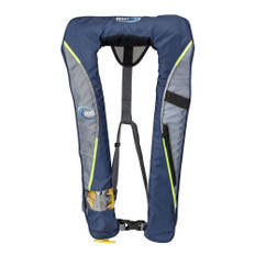 MTI Helios 2.0 Manual Inflatable Life Vest - Blue/Grey