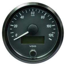 """VDO SingleViu 80mm (3-1/8"""") Speedometer - 160 MPH"""
