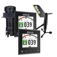 "B 4.1"" Color Display, DST810 Transducer, WS320 Wireless Wind Sensor & NMEA2000 Starter Kit"