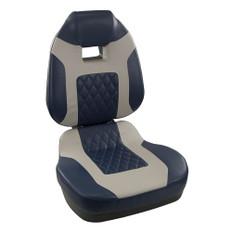 Springfield Fish Pro II High Back Folding Seat - Blue/Grey