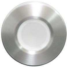 Lumitec Orbit - Flush Mount Down Light - Brushed Finish - White Non-Dimming