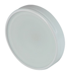 Lumitec Halo Flush Mount 5k White Led Down Light White Housing 12/24vdc